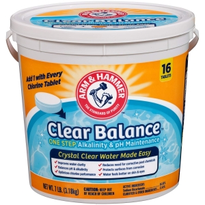Arm And Hammer Clear Balance Pool Maintenance Tablets