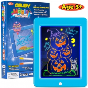 Obuby Kids Magic Pad Light Up Glow Drawing Board – Lightning Deal – $7.93 (was $16.99)