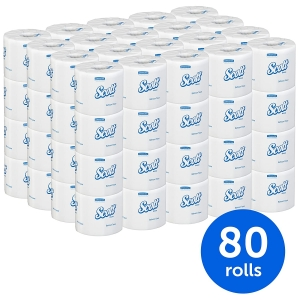 Scott Essential Professional Recycled Fiber Bulk Toilet Paper for Business – Price Drop – $42.34 (was $49.82)