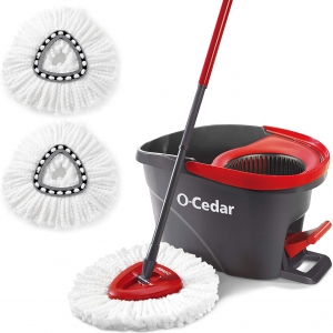 O-Cedar Easywring Microfiber Spin Mop and Bucket – Price Drop – $29.88 (was $38.99)