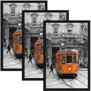 3-Pack Solid Wood Picture Frame with Plexiglass – Coupon Code SH4N8U5K – Final Price: $17.97 (was $35.95)