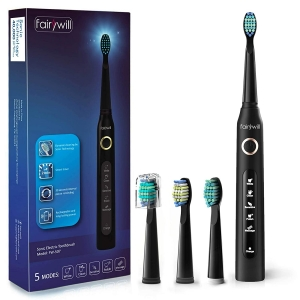 Fairywill Powerful Sonic Cleaning Electric Toothbrush – Clip Coupon + Coupon Code 3WVLMAR2 – $13.06 (was $27.79)