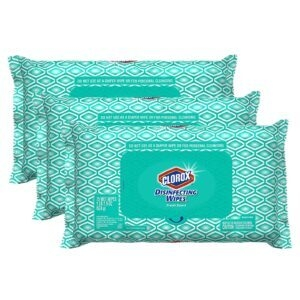 3-Pack Clorox Disinfecting Bleach Free Cleaning Wipes – Back in Stock – Only $11.97