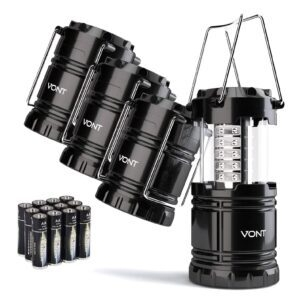4-Pack Vont Collapsible LED Lantern – $19.59 – Clip Coupon – (was $27.99)