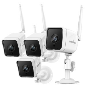 4-Pack Wansview 1080P Wireless Outdoor Security Camera – Clip Coupon + Coupon Code 8JZF5WP2 – $87.99 (was $139.99)