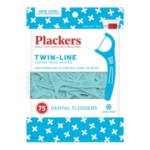 75-Count Plackers Twin-Line Dental Floss Picks – Price Drop – $1.66 (was $2.99)