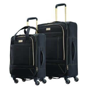 American Tourister Belle Voyage Softside Spinner Luggage Set – Price Drop – $69.99 (was $199.99)