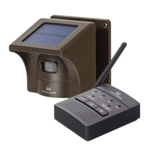 eMACROS 1/2 Mile Solar Driveway Alarm System – Coupon Code OC8ZHZTO – Final Price: $55.99 (was $69.99)