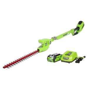 Greenworks 20-Inch 40V Cordless Pole Hedge Trimmer – Price Drop – $142.49 (was $189.99)