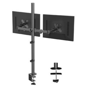 Huanuo Dual Monitor Stand with Extra Tall Pole – Coupon Code MU2Z6ARD – Final Price: $29.99 (was $49.99)