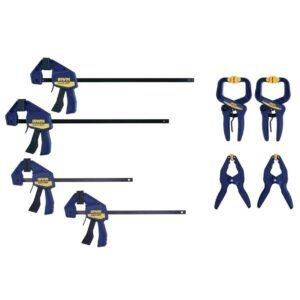 IRWIN QUICK-GRIP Clamps 8-Piece Set – Price Drop – $29.98 (was $35.52)