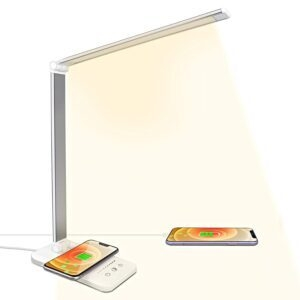 LED Desk Lamp with USB Port and Wireless Charger – Coupon Code CP3CVF3H – Final Price: $19.79 (was $32.99)