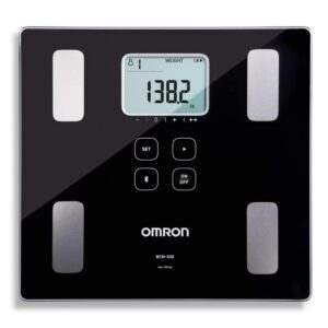 Omron Body Composition Monitor and Scale with Bluetooth Connectivity – $32.99 – Clip Coupon – (was $54.99)