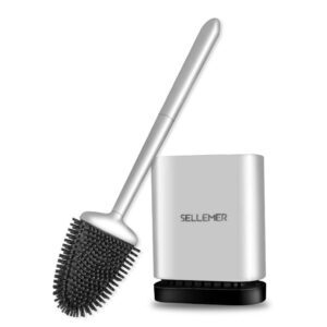 Sellemer Toilet Brush and Holder Set – Coupon Code EFRX5EVR – Final Price: $9.49 (was $18.99)