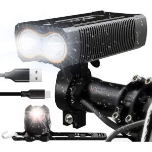 victagen USB Rechargeable Bike Light w/ Free Tail Light – Coupon Code 6NOWIDLS – Final Price: $20.99 (was $29.98)