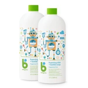 2-Pack Babyganics Foaming Dish and Bottle Soap – $9.84 – Clip Coupon – (was $13.84)
