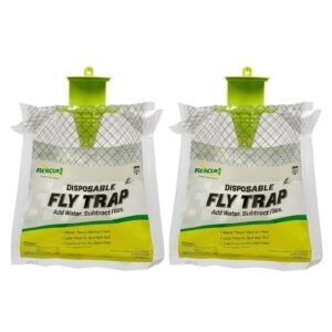 2-Pack RESCUE! Outdoor Disposable Fly Trap – Price Drop – $5.37 (was $13.62)