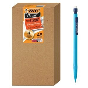 48-Pack BIC Xtra-Strong Mechanical Pencil – Coupon Code 65MECHPEN – Final Price: $7.29 (was $20.84)