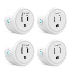4-Pack Gosund Mini Wifi Smart Plug – Clip Coupon + Coupon Code TS47A7YJ – $11.19 (was $27.99)