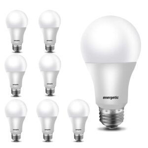 8-Pack energetic A19 LED Bulbs – Coupon Code H2QIPEZW – Final Price: $6.49 (was $12.99)