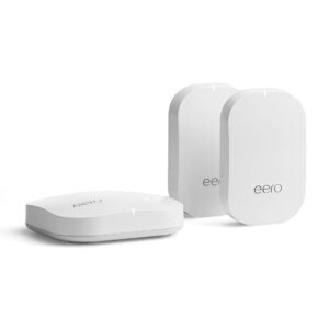 Amazon eero Pro Mesh WiFi System (1 Pro + 2 Beacons) – Price Drop – $255 (was $319)