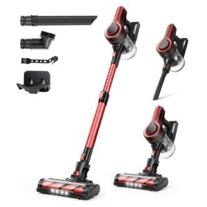 Aposen 4-in-1 Cordless Vacuum Cleaner – Clip Coupon + Coupon Code ITR52C3D – $80.19 (was $145.99)