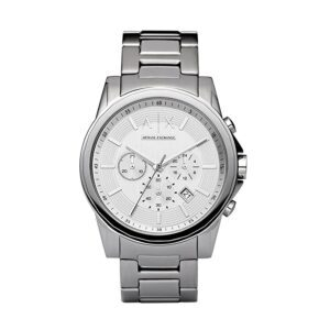 Armani Exchange Men's Stainless Steel Chronograph Watch – Price Drop – $65 (was $121)