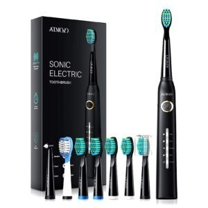 Atmoko Sonic Electric Toothbrush – Clip Coupon + Coupon Code VHNFBFKW – $12.65 (was $22.94)