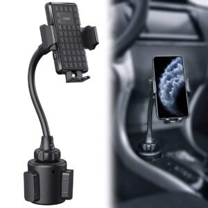 AUKEY Car Cup Holder Phone Mount – Price Drop + Coupon Code 10HAFTWA – $10.52 (was $14.99)