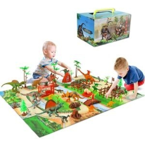 Baccow Educational Toy Dinosaurs Playset – Coupon Code 55XVKCMP – Final Price: $11.25 (was $24.99)