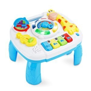 baccow Musical Educational Learning Activity Toy Table – Coupon Code U8KMMEI2 – Final Price: $11.49 (was $22.99)
