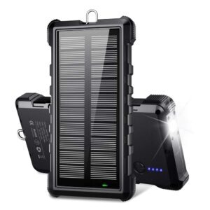 Beartwo 24000mAh Solar Power Bank – Coupon Code F3YPJZL3 – Final Price: $14.99 (was $29.98)