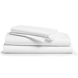 Comfy Sheets 100% Egyptian Cotton 4-Pc Bed Sheets – Price Drop – $53.99 (was $89.99)