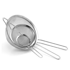 Cuisinart Set of 3 Fine Mesh Stainless Steel Strainers – $10.39 – Clip Coupon – (was $12.99)
