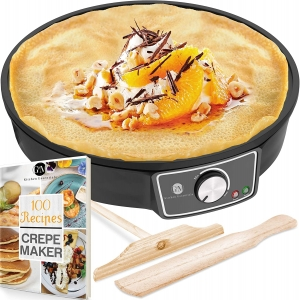 """G and M Nonstick 12"""" Crepe Maker – $28.95 – Clip Coupon – (was $39.95)"""