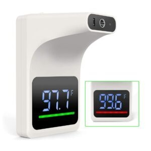 Gekka Wall Mounted Non Contact Thermometer – Clip Coupon + Coupon Code VRGQ8YVY – $58.29 (was $86.99)