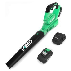 Kimo Cordless Leaf Blower – Clip Coupon + Coupon Code 22WLNLPF – $39.59 (was $79.99)