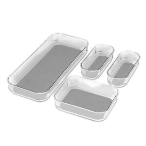 madesmart 4-Piece Clear Bin Pack – Price Drop – $11.94 (was $24.99)