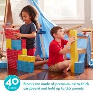 Melissa and Doug Deluxe Jumbo Cardboard Blocks – Price Drop – $24.60 (was $33.99)