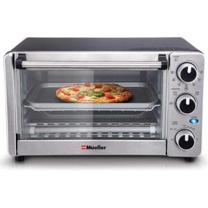 Mueller Austria 4-Slice Multi-function Toaster Oven – $39.97 – Clip Coupon – (was $49.97)