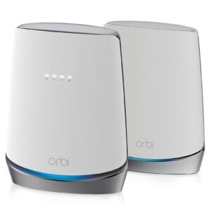 NETGEAR Orbi WiFi 6 Mesh System with DOCSIS 3.1 Cable Modem – Price Drop – $499.99 (was $562.74)