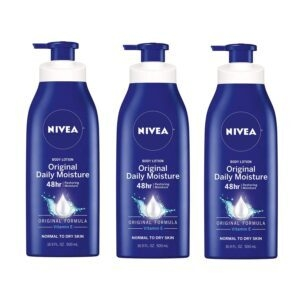 NIVEA Original Daily Moisture Body Lotion – Add 3 to Cart – Price Drop at Checkout – $11.44 (was $16.44)