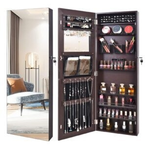 Outdoor Doit Frameless Lockable Full Mirror Organizer – $78.97 – Clip Coupon – (was $99.97)