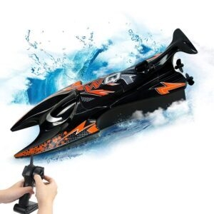 Remote Control Speed Boat Toy – Coupon Code 6076PCUE – Final Price: $13.60 (was $33.99)