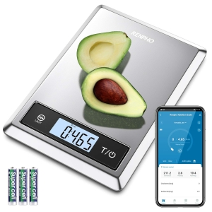 RENPHO Digital Food Scale W/ Nutritional Calculator – Coupon Code BSNSBYRP – Final Price: $11.99 (was $23.98)