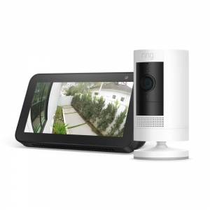 Ring Stick Up Camera with Echo Show 5 – Price Drop – $124.99 (was $144.98)