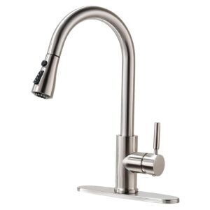 Rulia Pull-Down Kitchen Faucet – Price Drop – $33.03 (was $49.99)