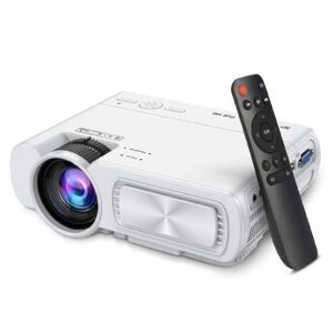 SeeYing 4500Lux Portable Mini Projector – Coupon Code 50QRHFPI – Final Price: $62.49 (was $124.99)