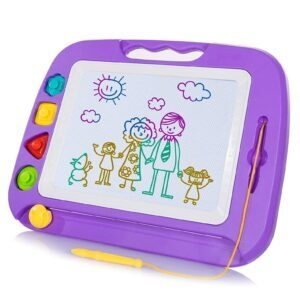 SGILE Magnetic Drawing Board Toy for Kids – Clip Coupon + Coupon Code ZIYVGKWW – $11.99 (was $19.99)