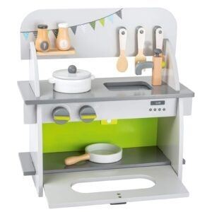 small foot wooden toys Complete Compact Play Kitchen – Price Drop – $19.99 (was $41.39)